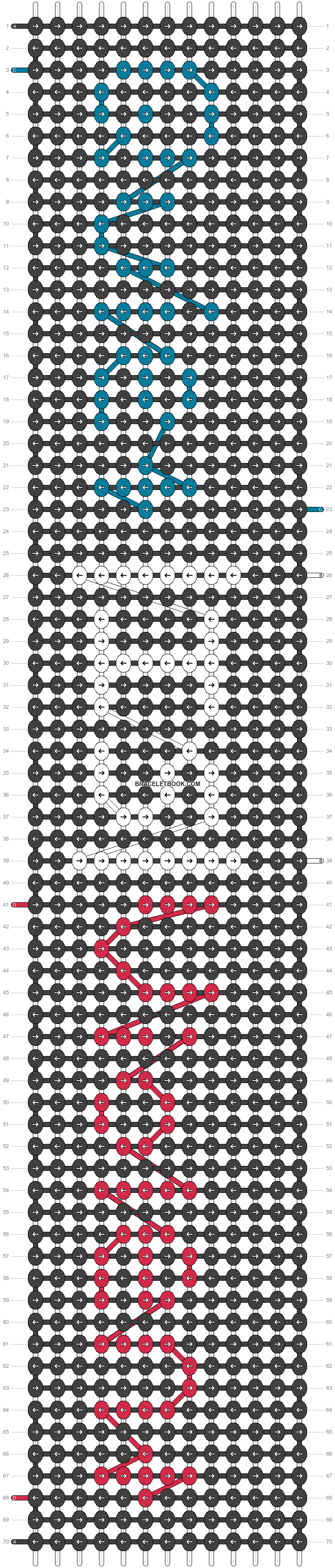 Alpha pattern #14621 pattern