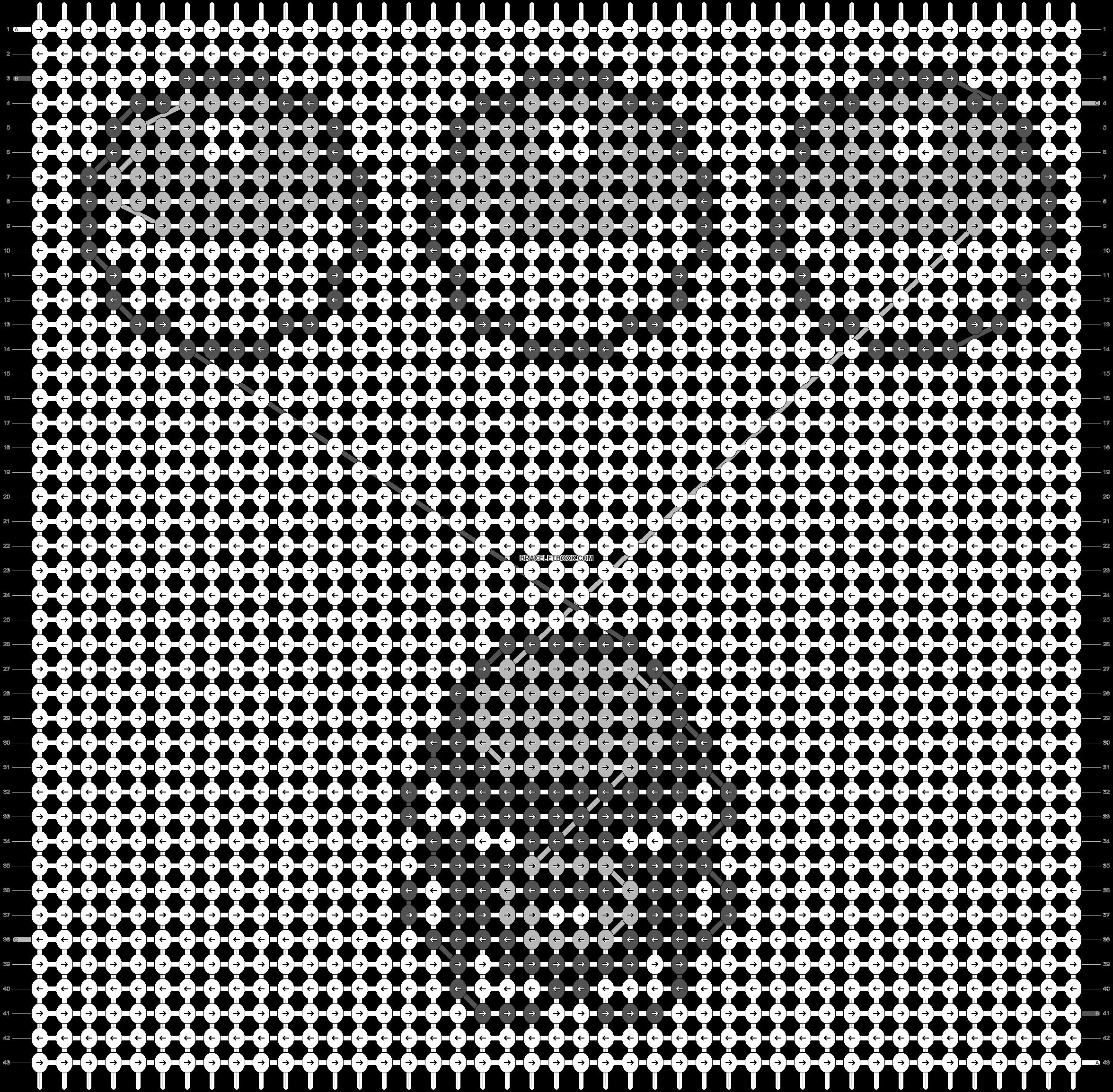 Alpha pattern #14628 pattern