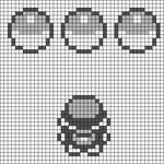 Alpha Friendship Bracelet Pattern #14628