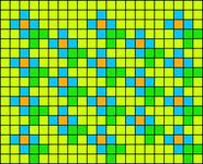 Alpha pattern #14634