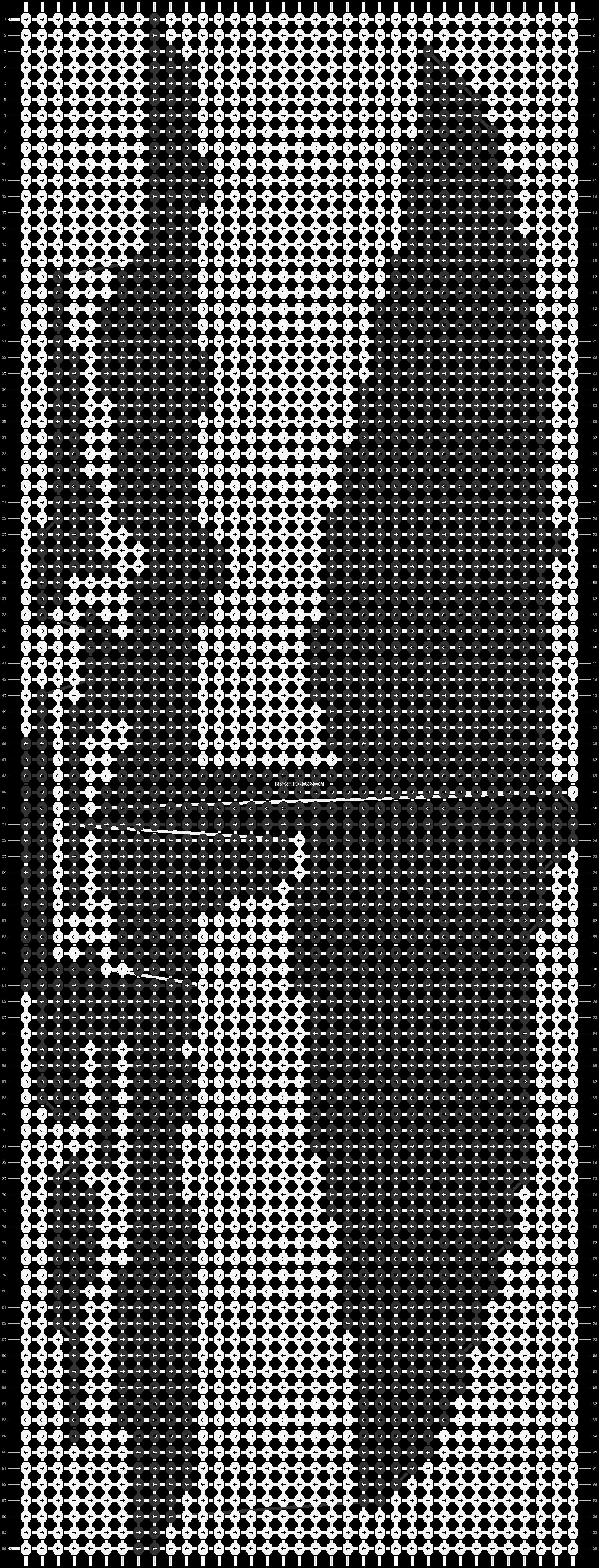 Alpha pattern #14635 pattern