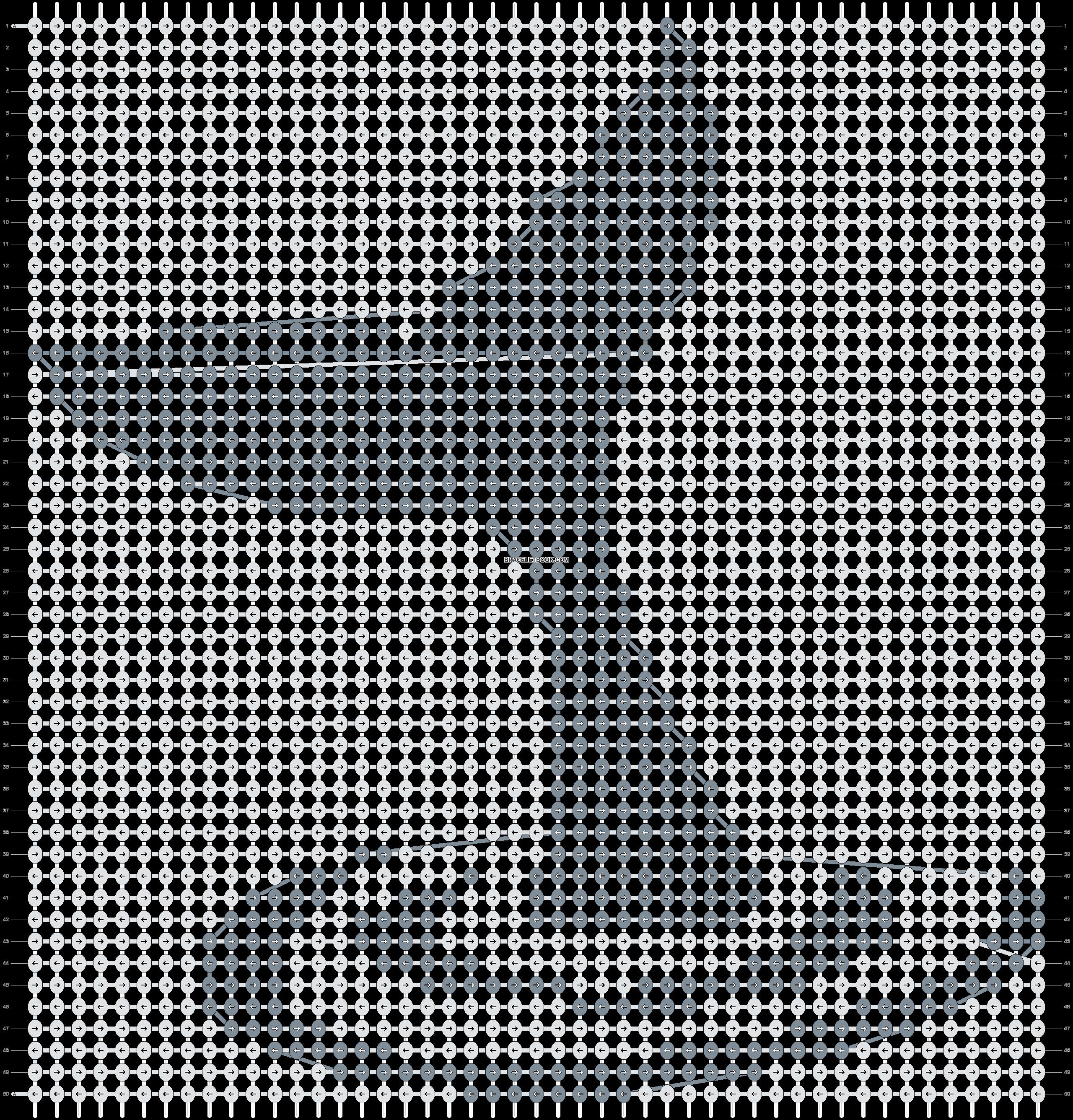Alpha pattern #14636 pattern