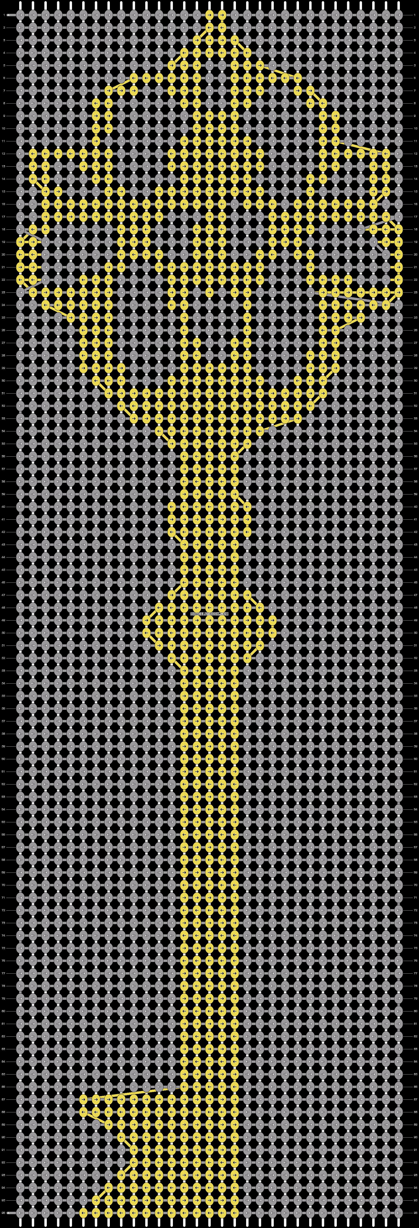 Alpha pattern #14637 pattern