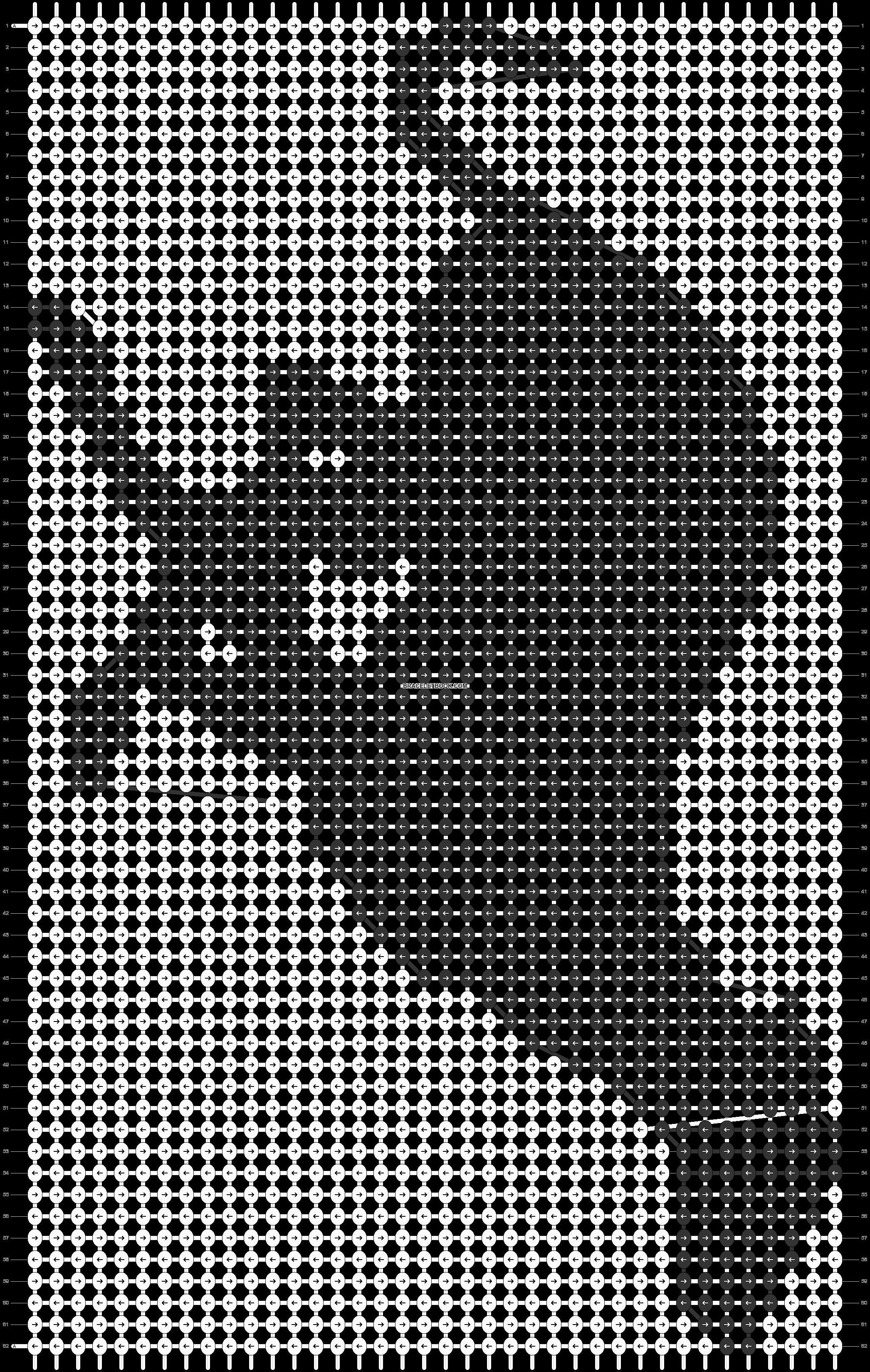 Alpha pattern #14639 pattern