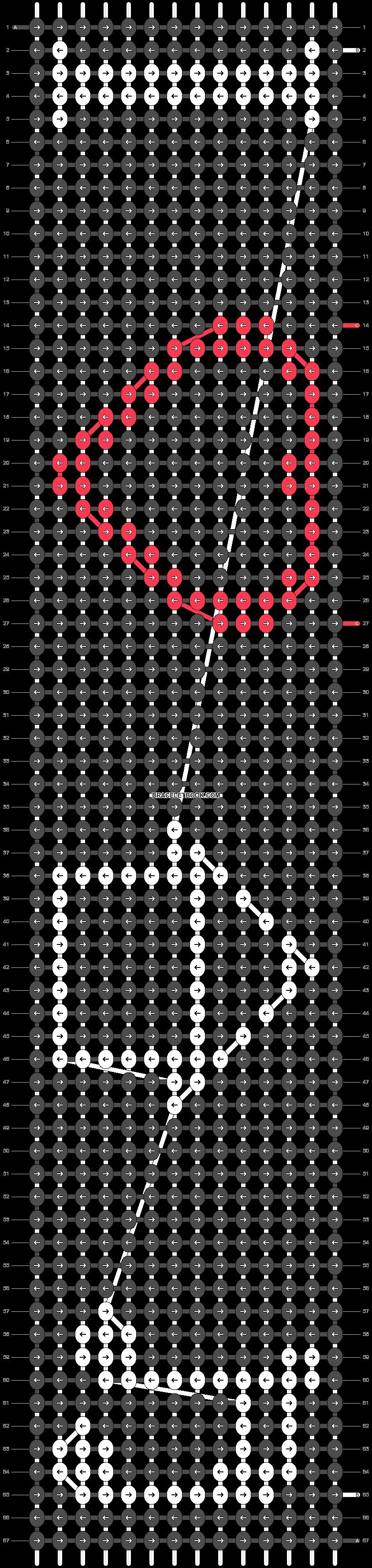Alpha pattern #14640 pattern
