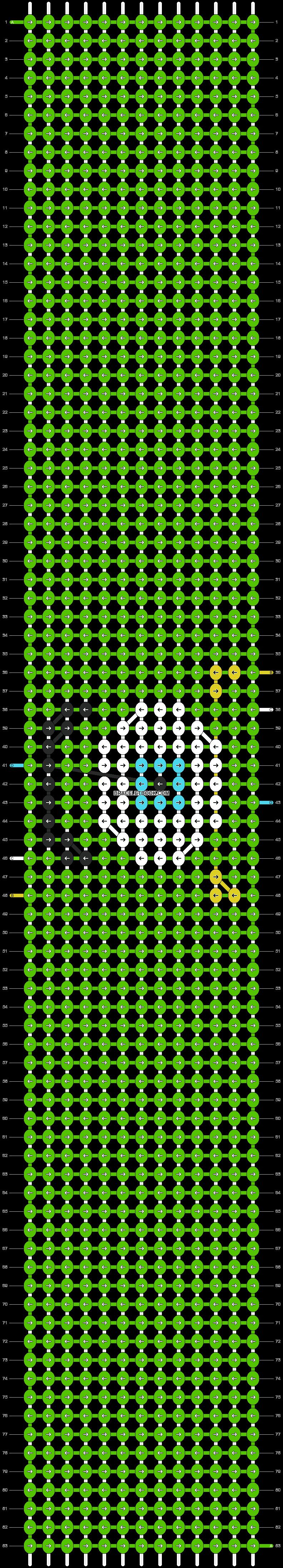 Alpha pattern #14643 pattern