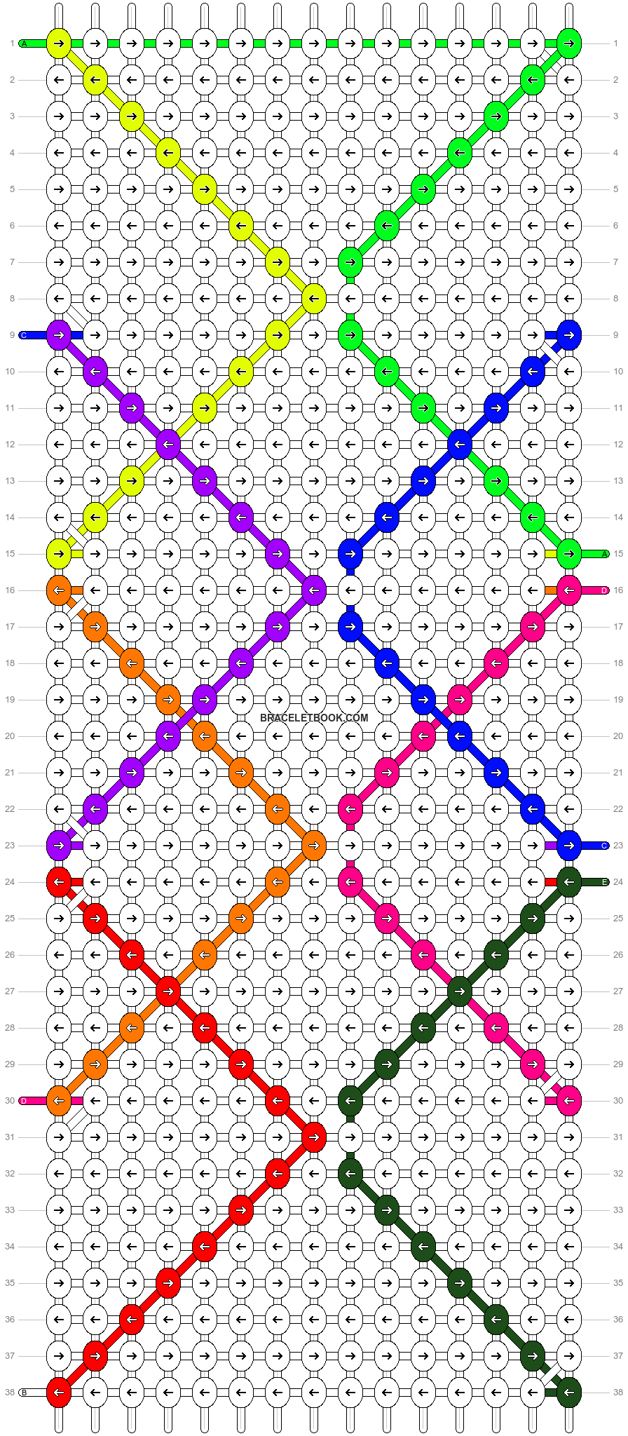 Alpha pattern #14656 pattern