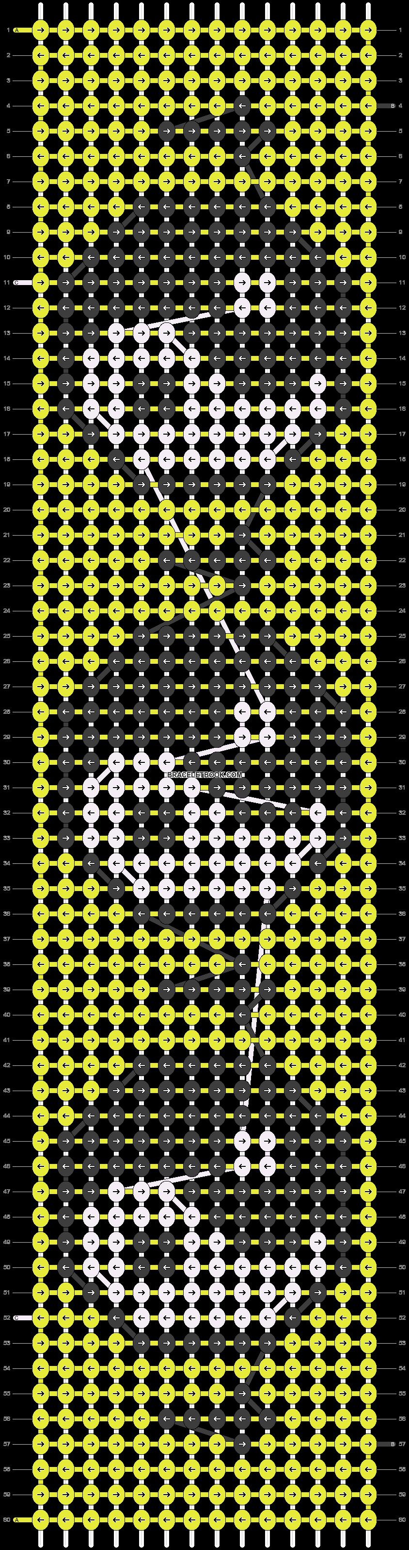 Alpha pattern #14662 pattern