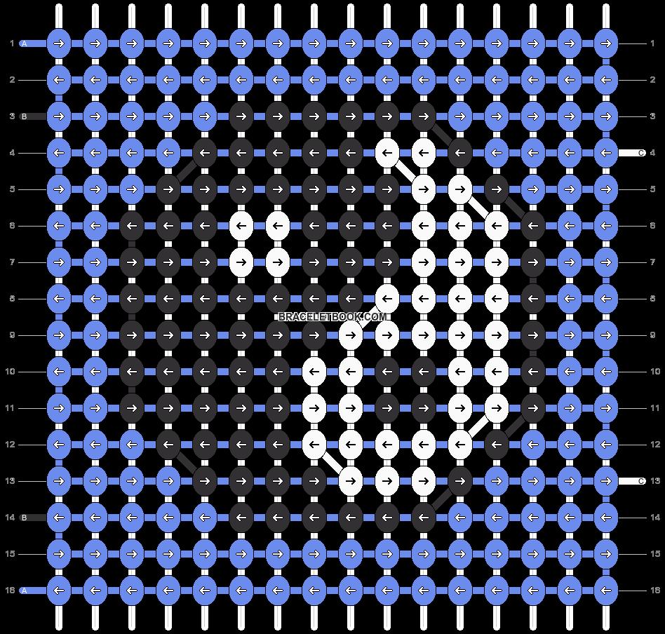 Alpha pattern #14663 pattern