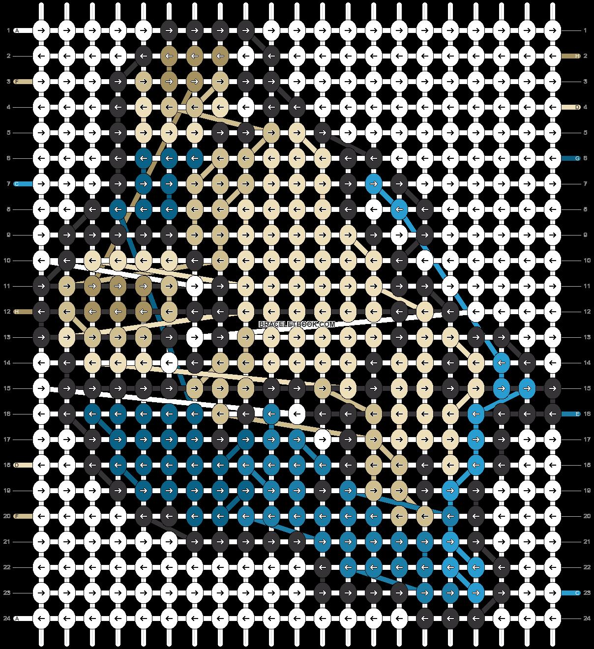 Alpha pattern #14666 pattern