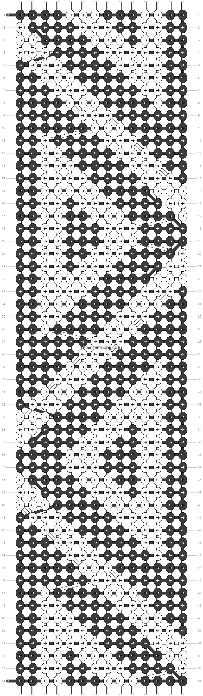 Alpha pattern #14675 pattern