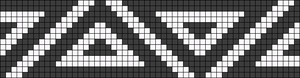 Alpha Friendship Bracelet Pattern #14675