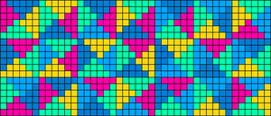 Alpha pattern #14684
