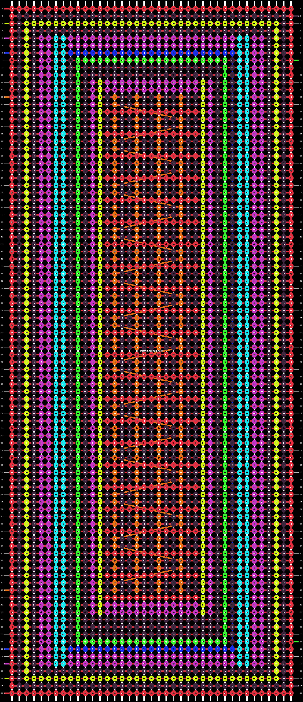 Alpha pattern #14688 pattern