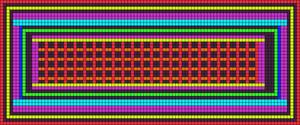 Alpha Friendship Bracelet Pattern #14688