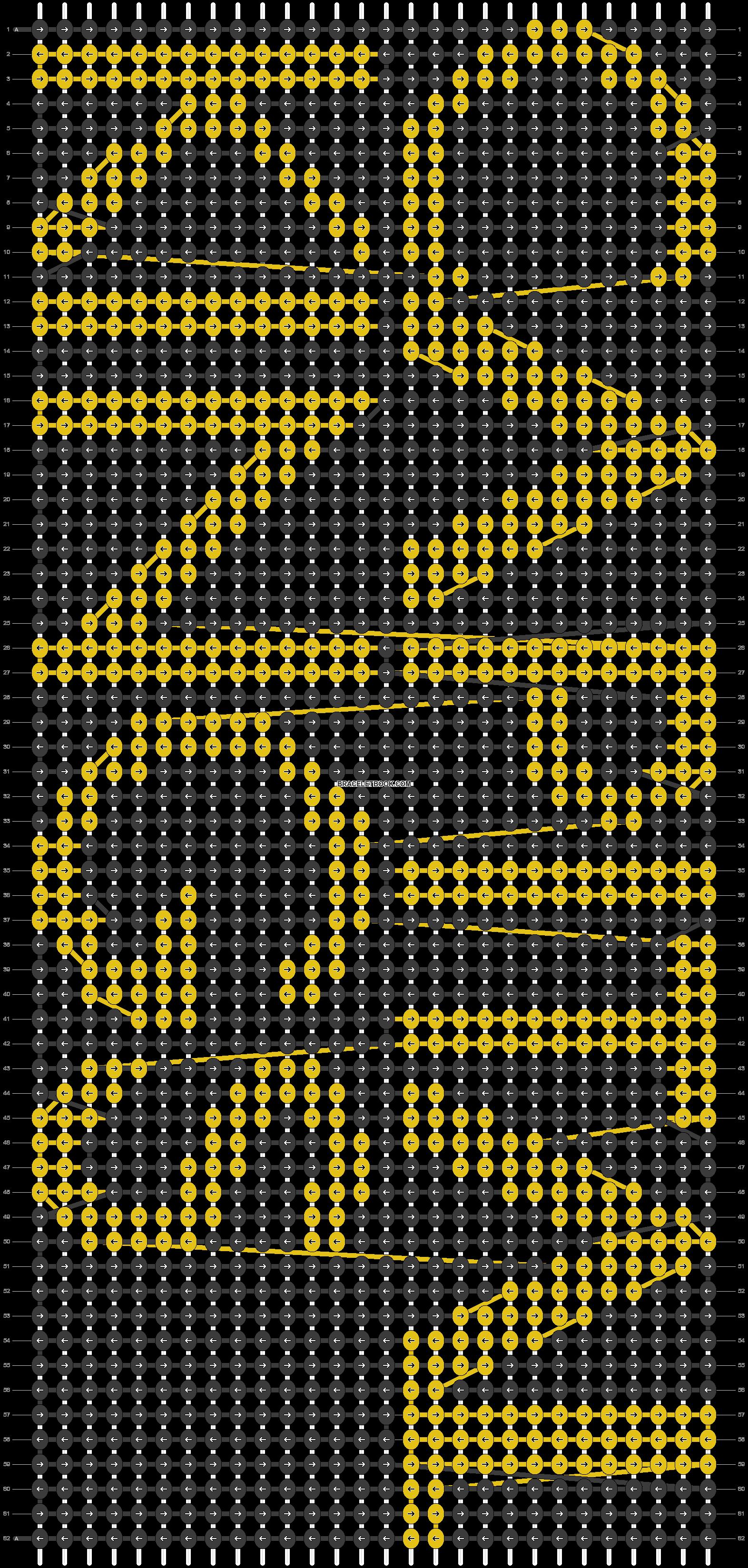 Alpha pattern #14695 pattern