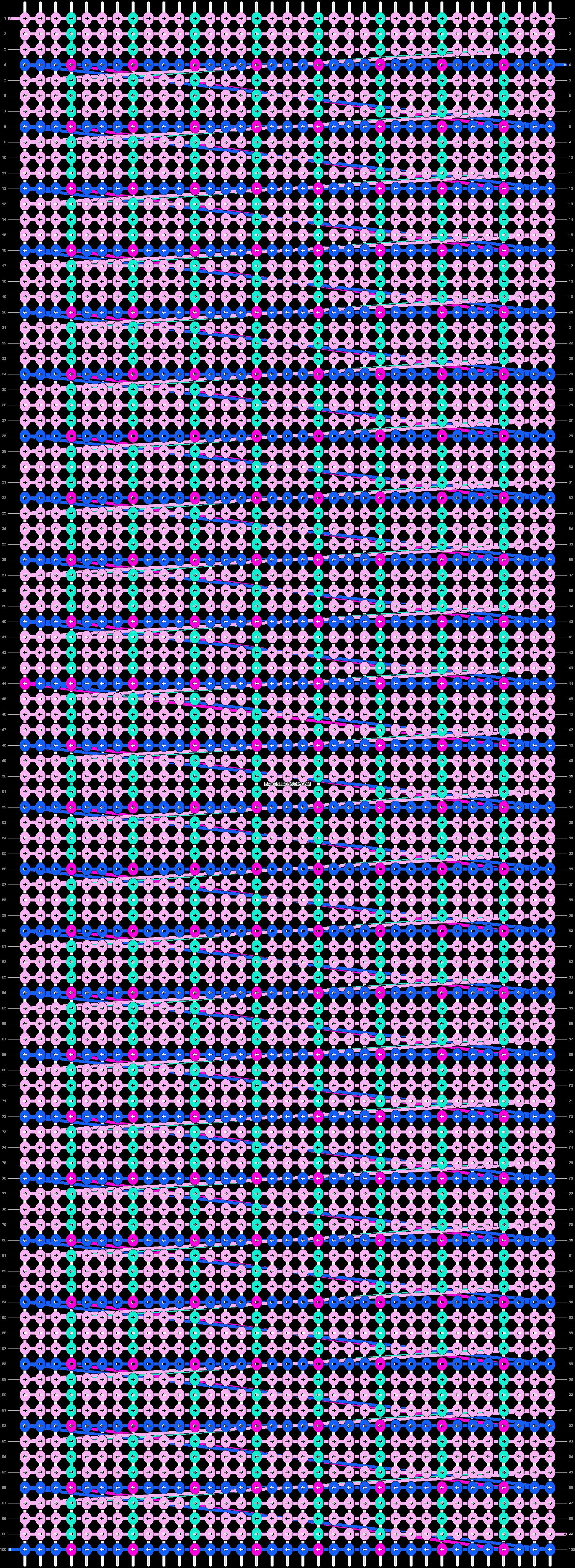 Alpha pattern #14700 pattern