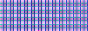 Alpha Friendship Bracelet Pattern #14700