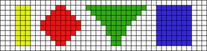 Alpha pattern #14703