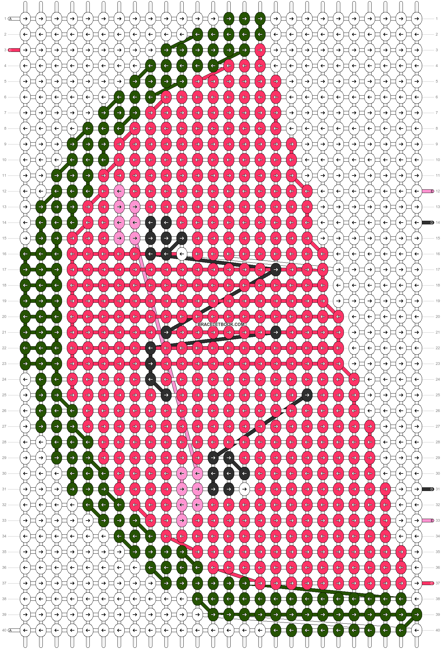 Alpha pattern #14706 pattern