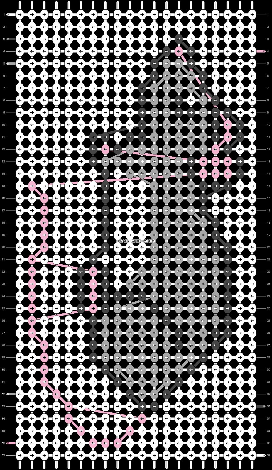 Alpha pattern #14710 pattern