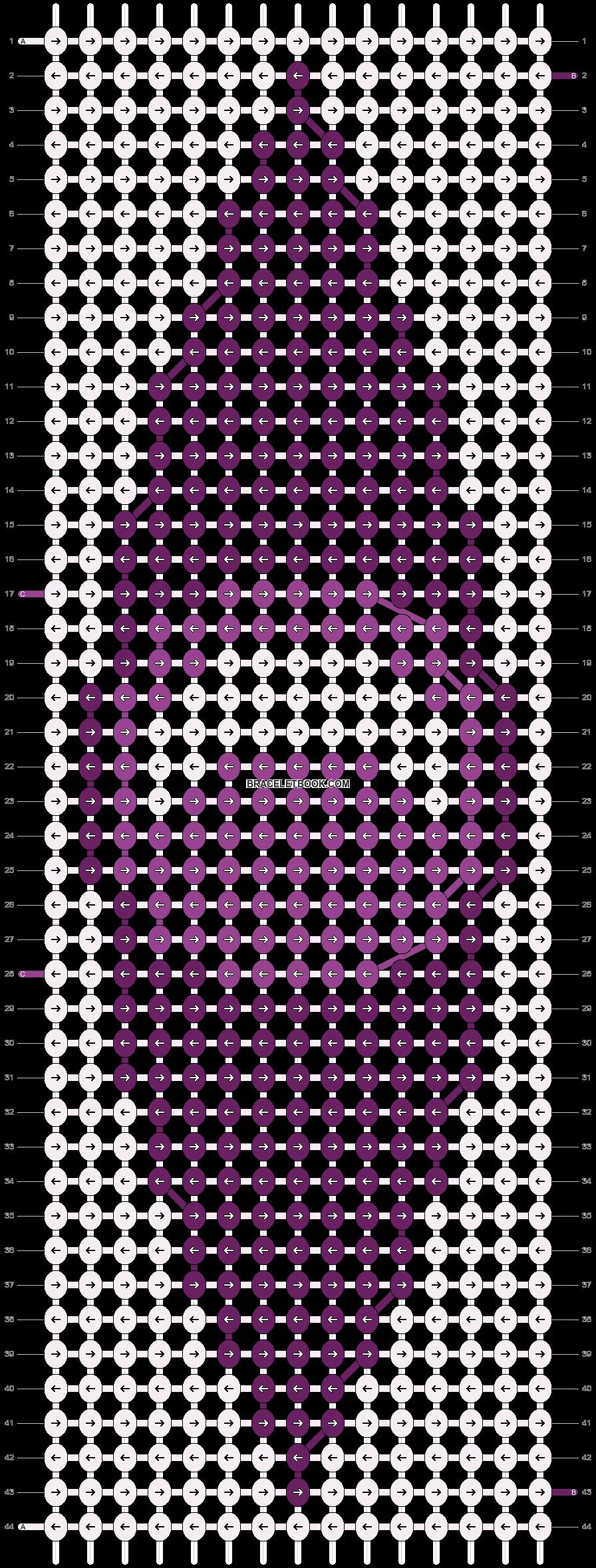 Alpha pattern #14718 pattern