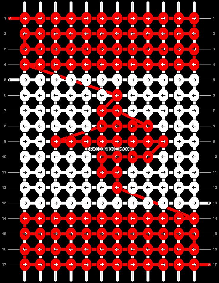 Alpha pattern #14728 pattern