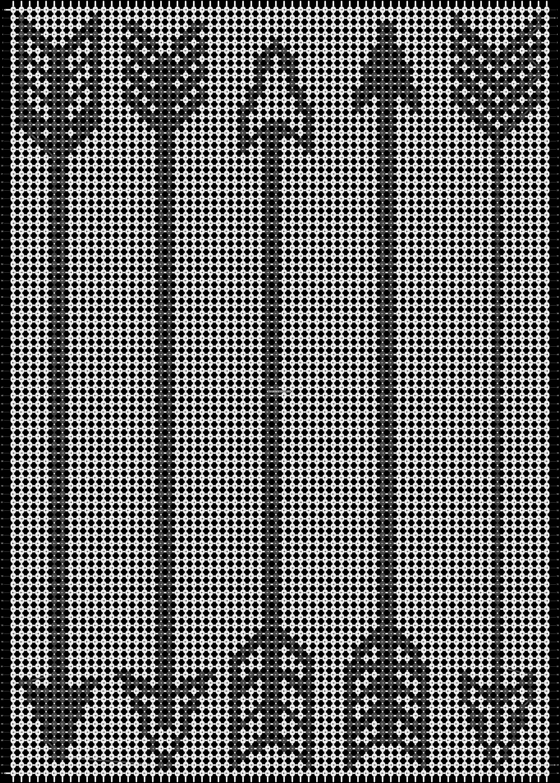 Alpha pattern #14730 pattern