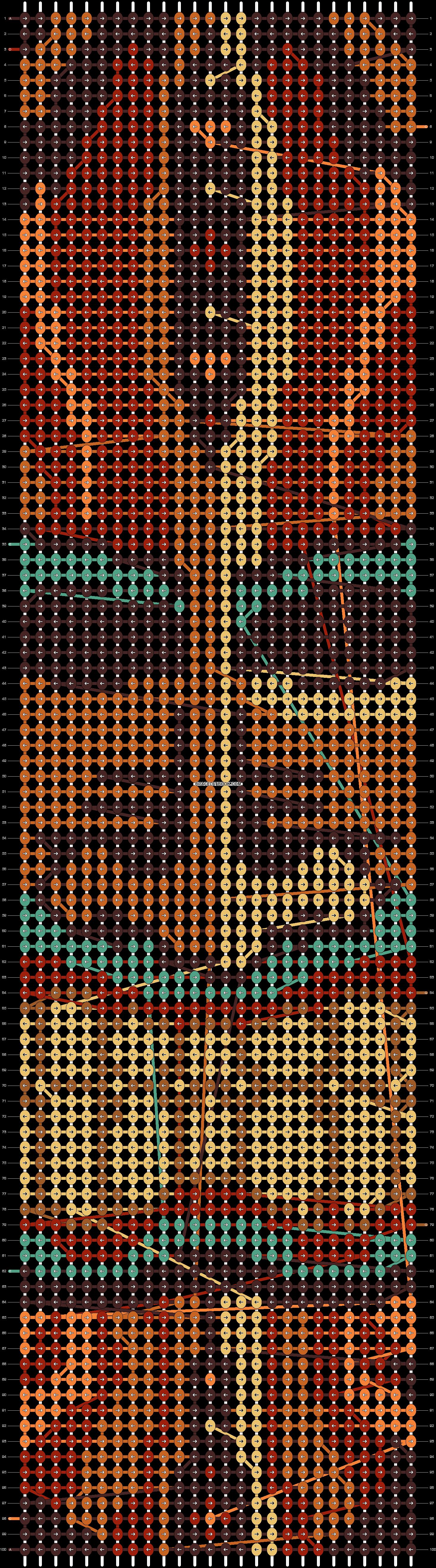 Alpha pattern #14731 pattern