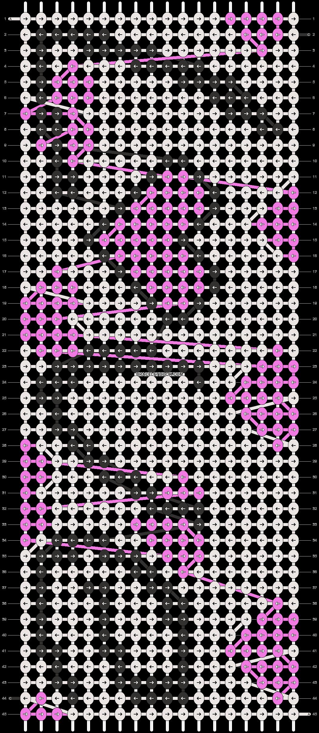 Alpha pattern #14733 pattern