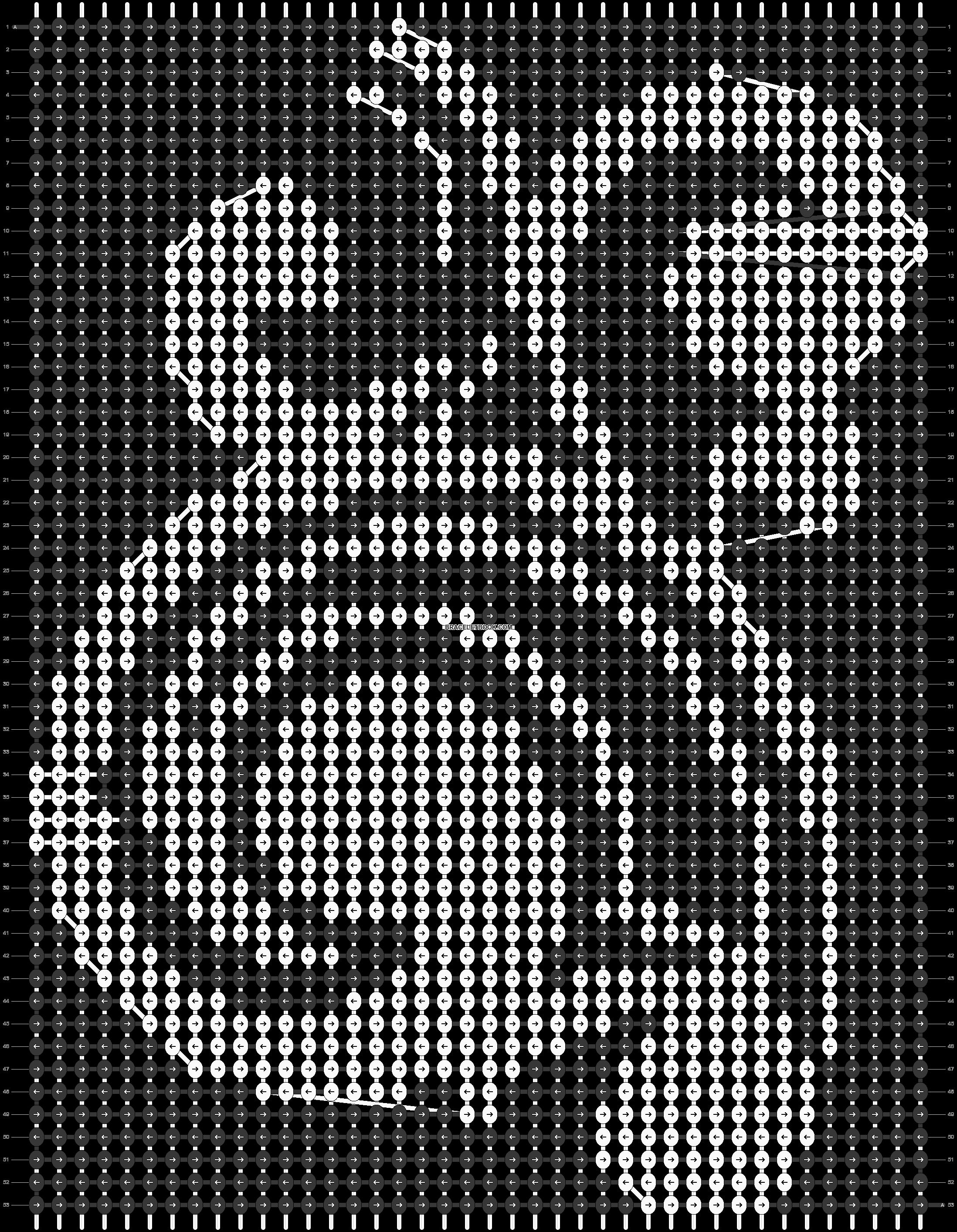 Alpha pattern #14740 pattern