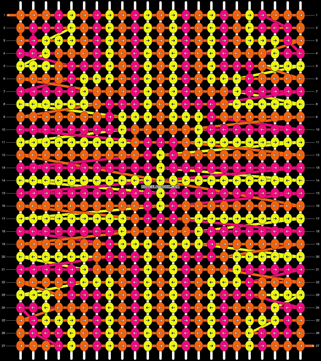 Alpha pattern #14744 pattern