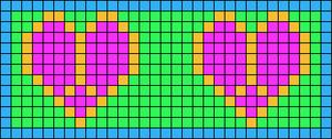 Alpha pattern #14745