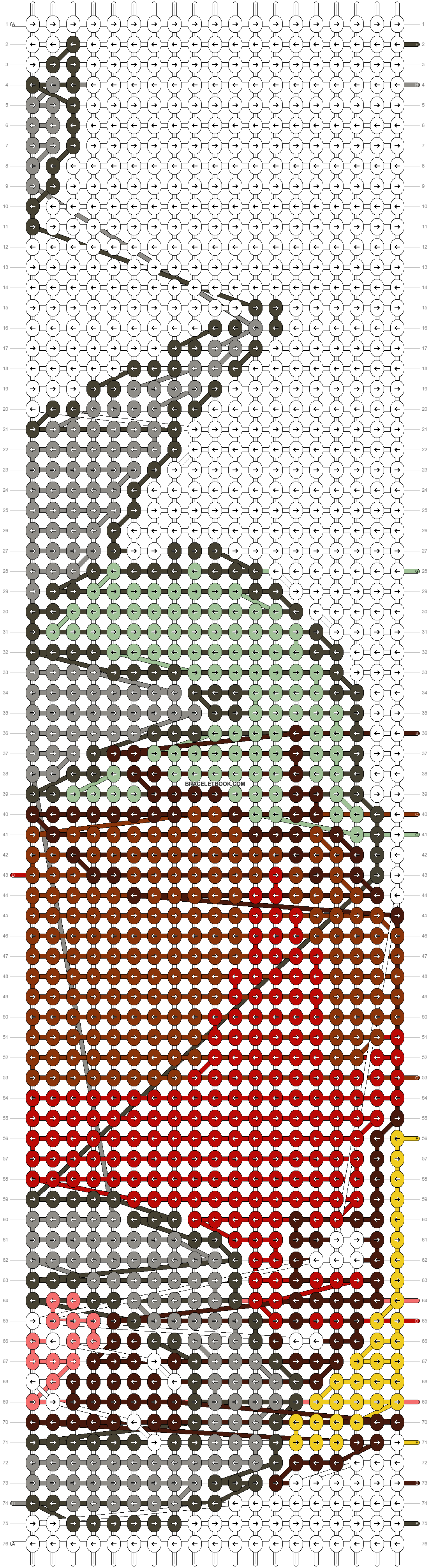 Alpha pattern #14758 pattern