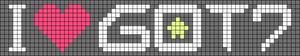 Alpha pattern #14760