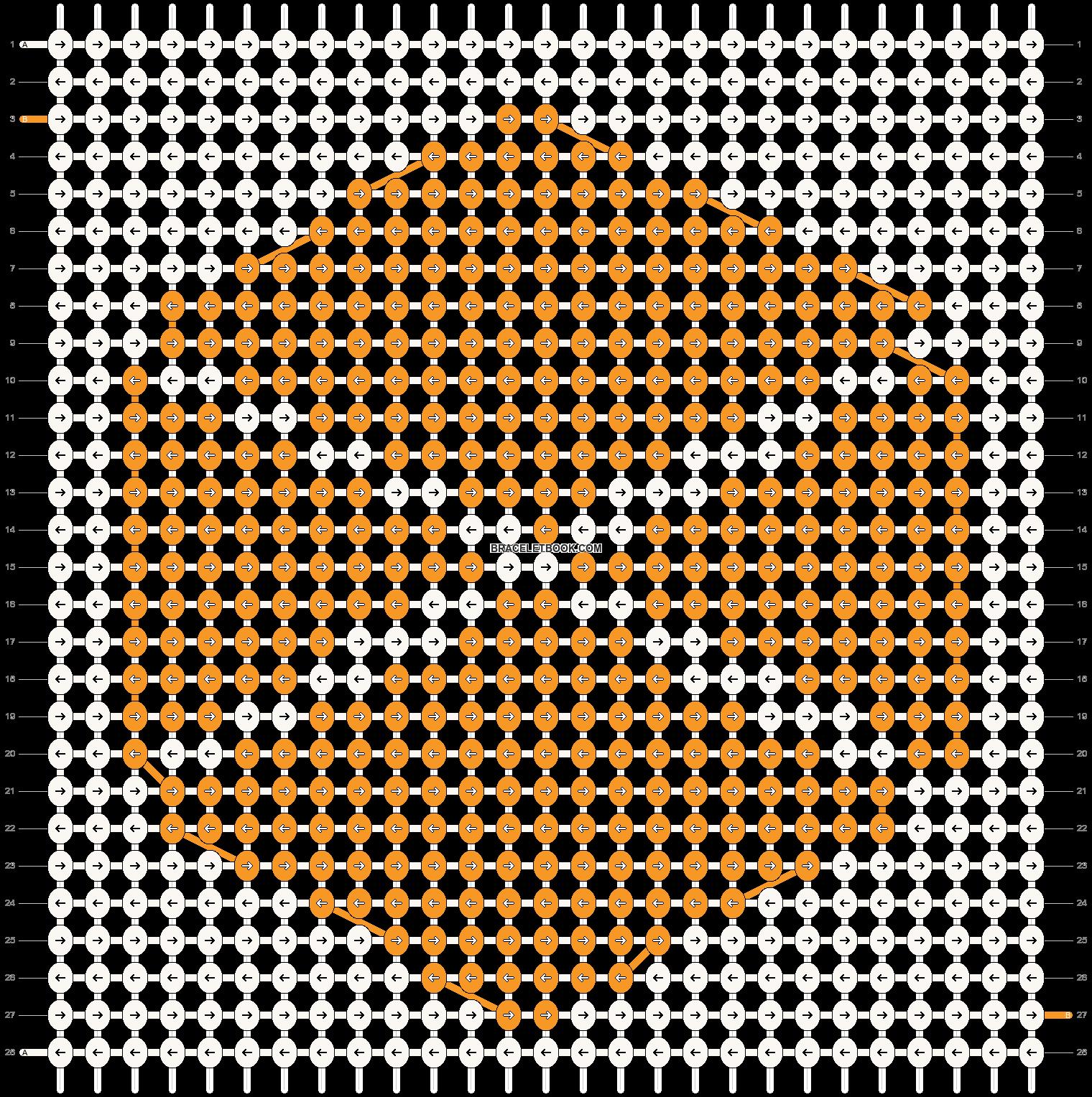 Alpha pattern #14764 pattern