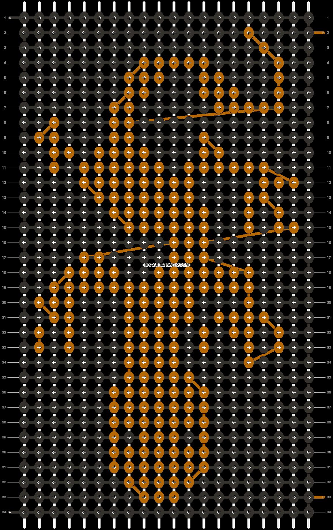 Alpha pattern #14768 pattern