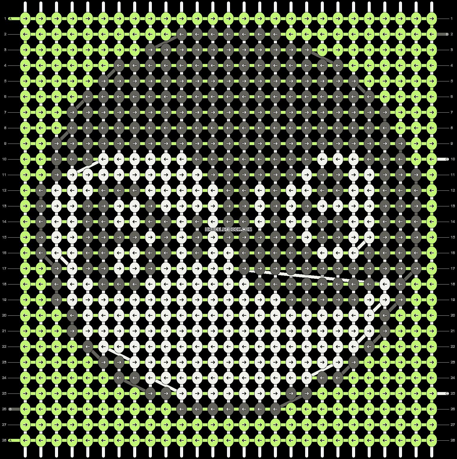 Alpha pattern #14779 pattern