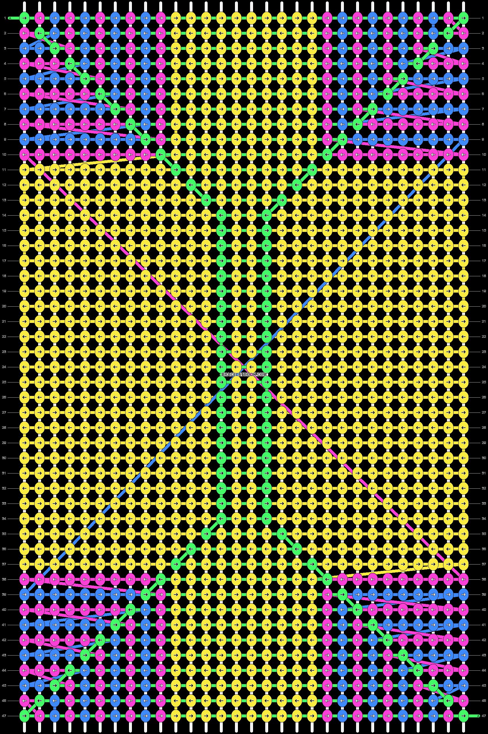 Alpha pattern #14780 pattern