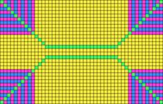 Alpha pattern #14780