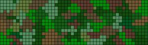 Alpha Friendship Bracelet Pattern #14784