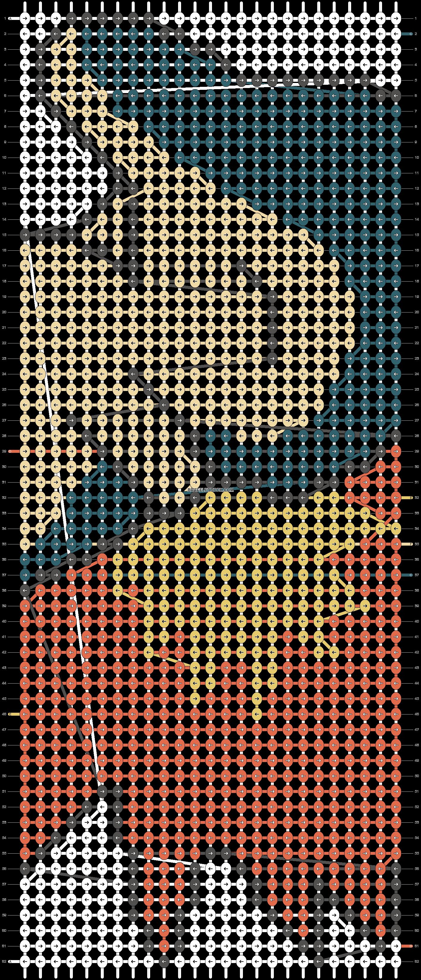 Alpha pattern #14785 pattern