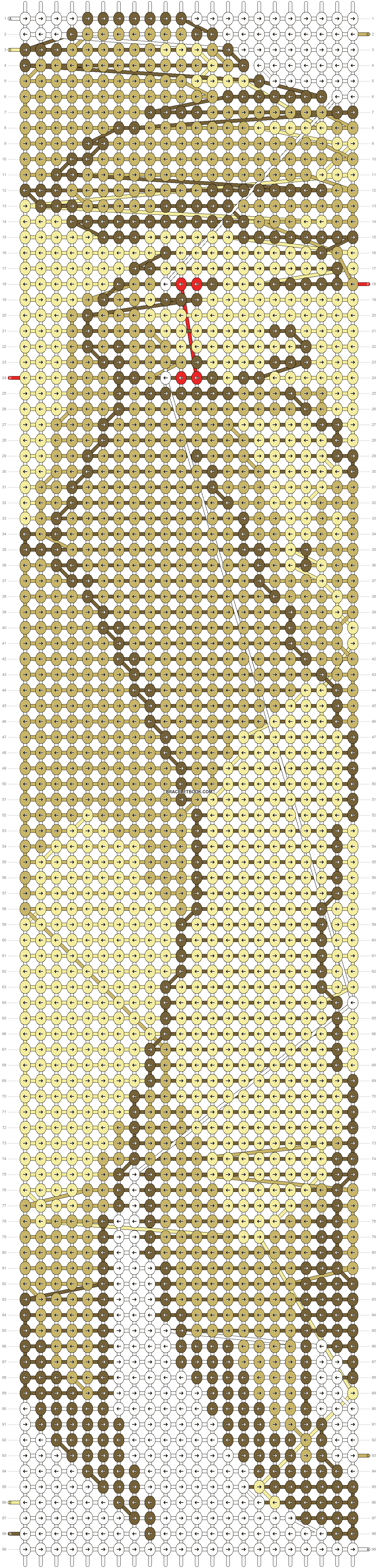 Alpha pattern #14786 pattern