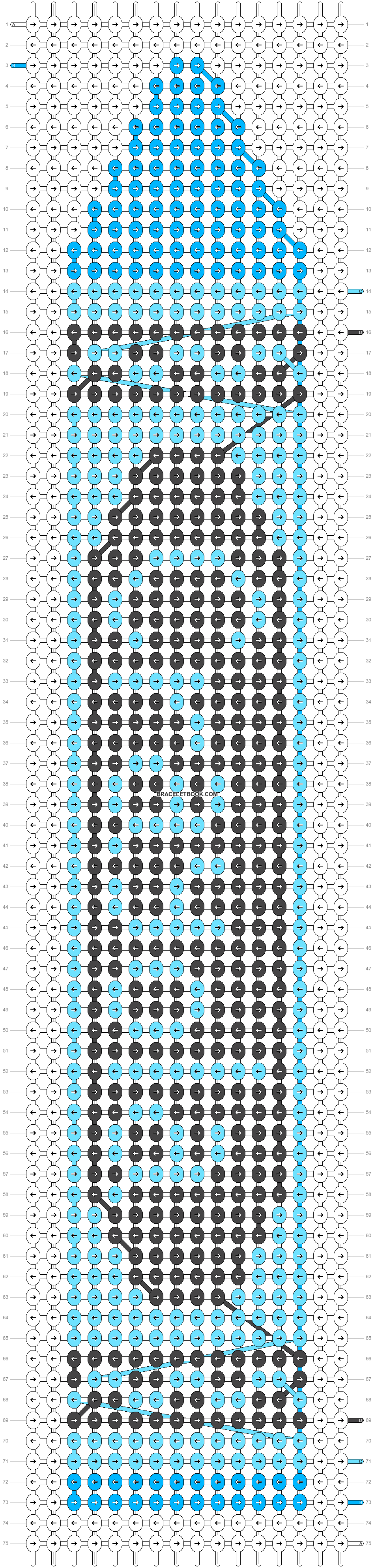 Alpha pattern #14802 pattern