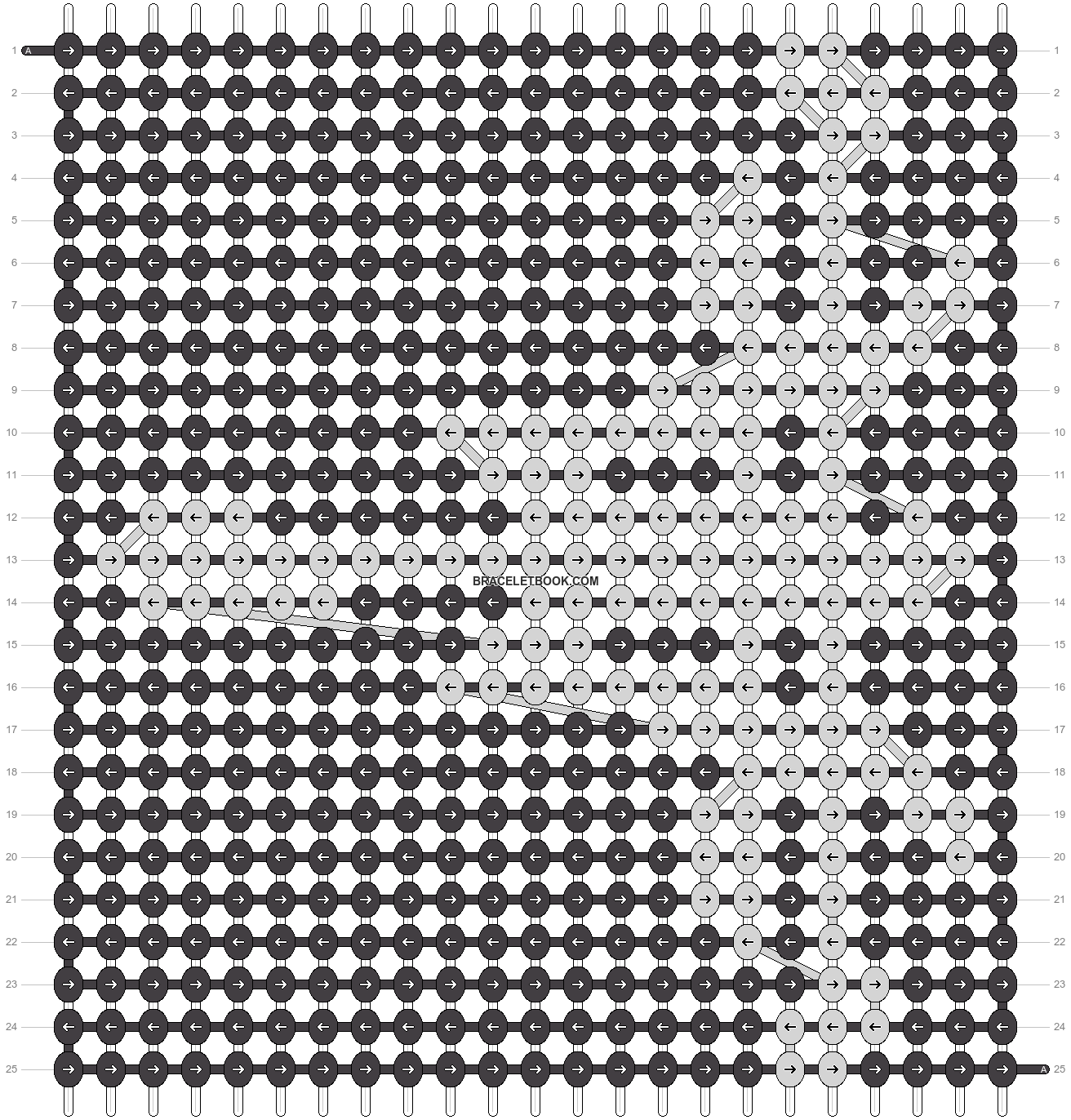 Alpha pattern #14804 pattern