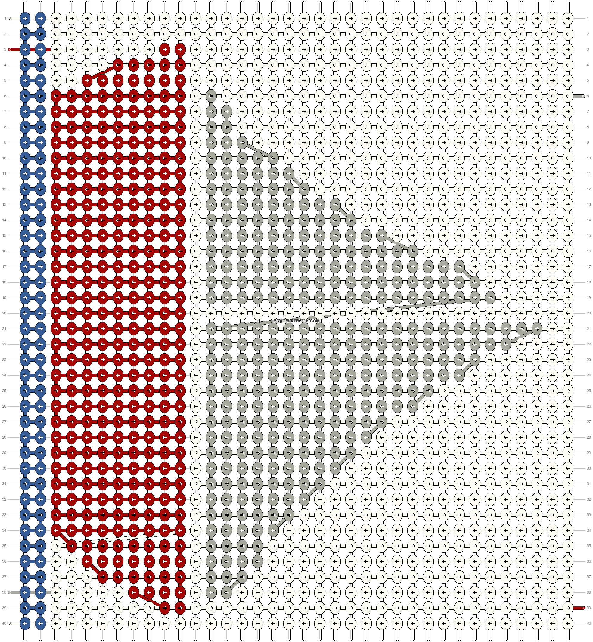 Alpha pattern #14811 pattern