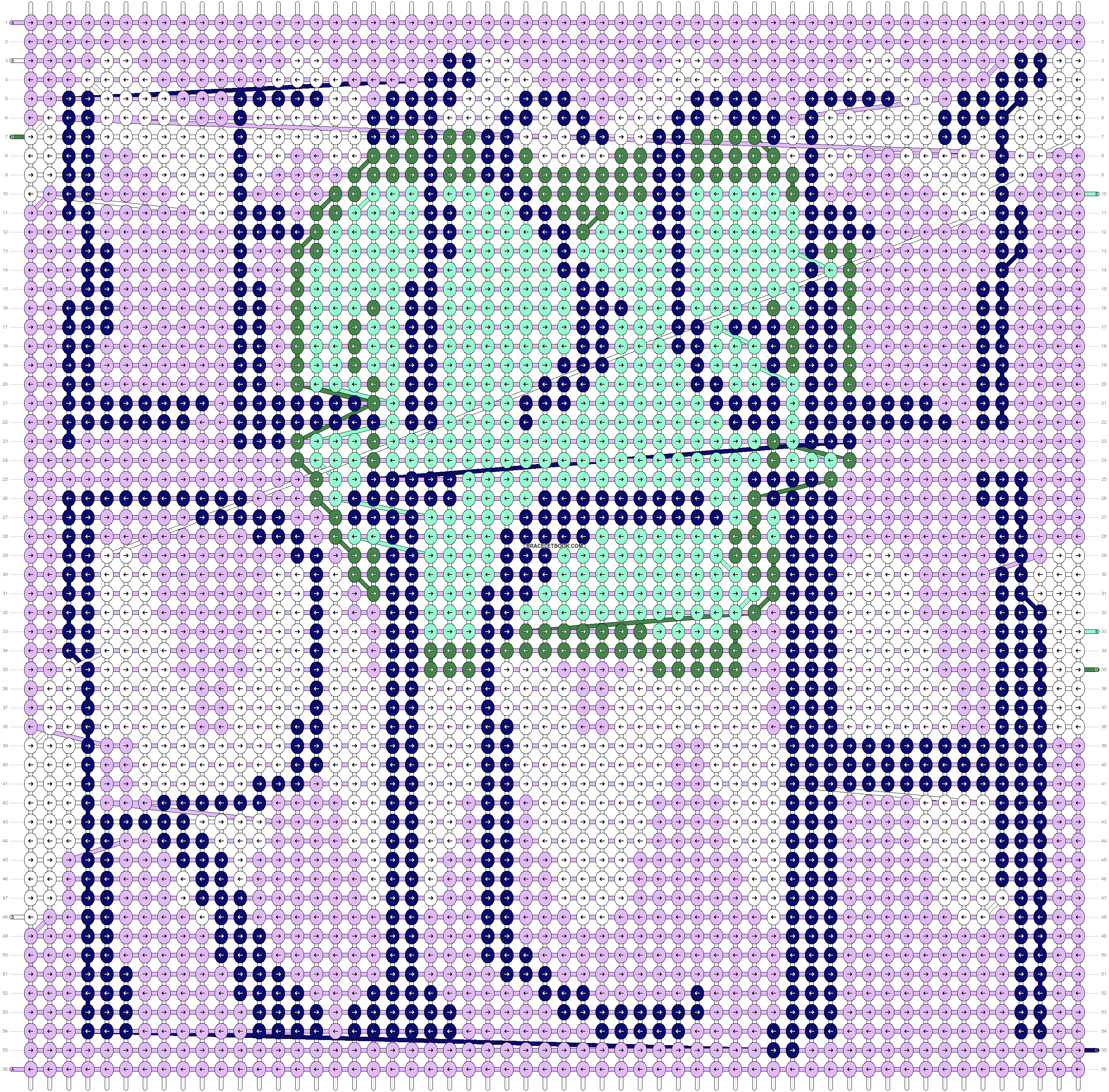Alpha pattern #14815 pattern