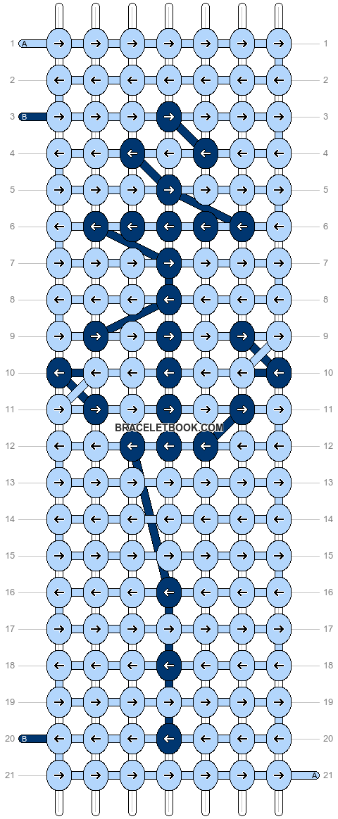 Alpha pattern #14816 pattern
