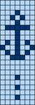 Alpha Friendship Bracelet Pattern #14816
