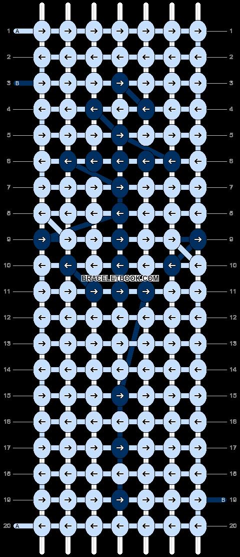 Alpha pattern #14817 pattern